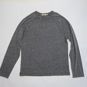 Ugg Grey Heather Long Sleeve Crew Neck T-shirt